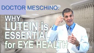 Why Lutein is needed for Eye & Vision Health