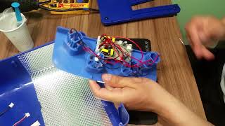 Ремонт Ультрафиолетовой сушилки для ногтей. Не горит 1 лампа