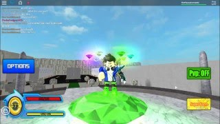 ROBLOX Sonic Ultimate RPG - Super Transformation!