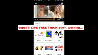 Free Live TV On YUPPTV Trick(in hindi)---Techical Tricks #2