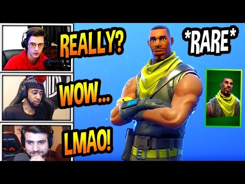 """STREAMERS REACT TO *RARE* """"SCOUT"""" SKIN COMING BACK! Fortnite FUNNY & SAVAGE Moments"""