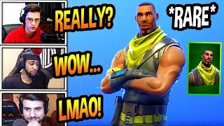 "STREAMERS REACT TO *RARE* ""SCOUT"" SKIN COMING BACK! Fortnite FUNNY & SAVAGE Moments"