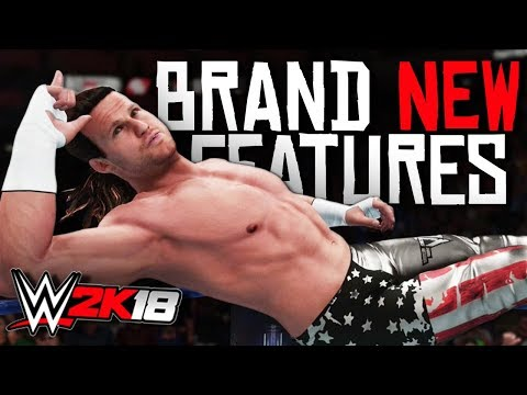 WWE 2K18 - 6 Brand NEW Features You NEED To SEE!
