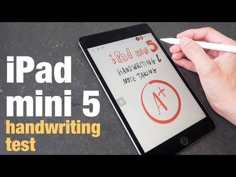IPad Mini 5 Handwriting & Note Taking Test