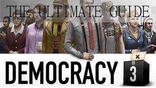 Democracy 3: TUTORIAL -= Gameplay & Walkthrough =-