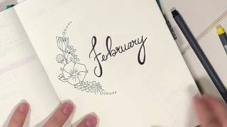 PLAN WITH ME FEBRUARY 2018 | Bullet Journal