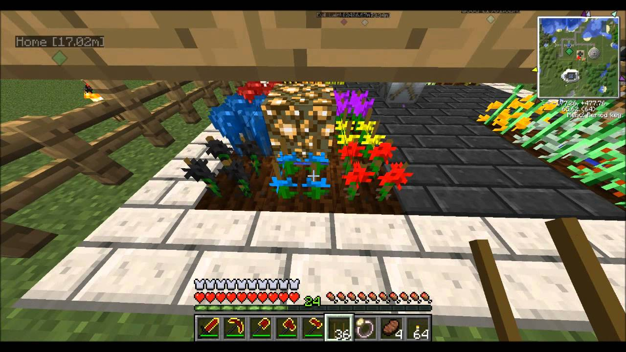 Tekkit! Tutorial Industrial Craft 2 Agriculture  How to Plant