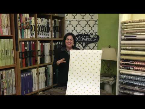 Joanna Gaines Dots On Dots Wallpaper