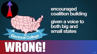 THE ELECTORAL COLLEGE IS A MESS - RESPONSE To Prager U!