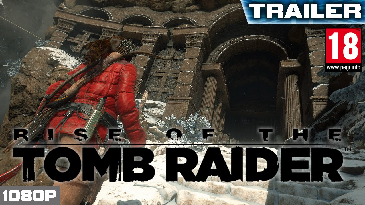 Rise of the Tomb Raider - PC Tech Trailer | PEGI 18 [PC, XBOX ONE, PS4]