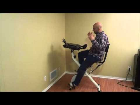FitDesk 2.0 Review-Exercise Bike With Desk Attachment