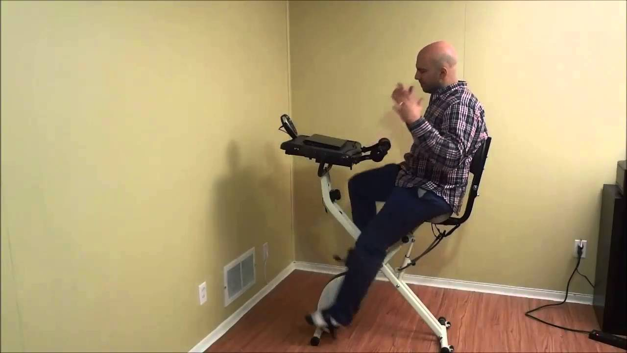 Fitdesk 2 0 Review Exercise Bike With Desk Attachment