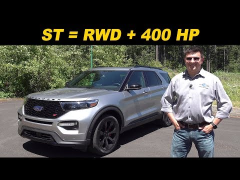 2020 Ford Explorer ST Review | The Mustang Of CUVs