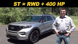 2020 Ford Explorer ST Review   The Mustang Of CUVs