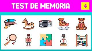 TEST PARA EJERCITAR LA MEMORIA - PRUEBA DE MEMORIA - VISUAL MEMORY TEST - EJERCITAR LA MENTE