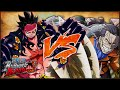 [PS4] ONE PIECE: Burning Blood | Gear Fourth Monkey D. Luffy VS Sir Crocodile