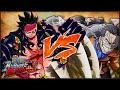 [PS4] ONE PIECE: Burning Blood | Gear Fourth Monkey D. Luffy VS Sir Crocodile