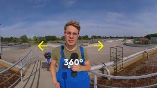 Ausbildung zur Fachkraft für Abwassertechnik bei EWE - 360° Video