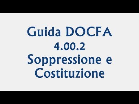 Guida Su Docfa 4 00 2 Esempio Soppressione E Costituzione Unita Immobiliare Youtube