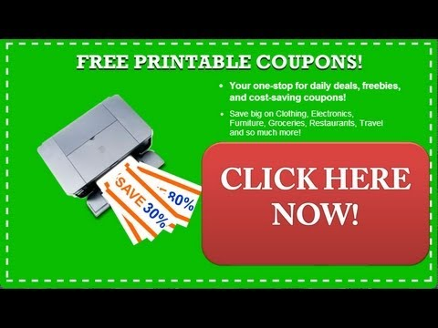 Free Printable Coupons  – Get Free Online Printable Coupons