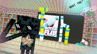 Monster School :  MVP Bottle Flip challenge !!! Dude Perfect