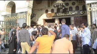 5 فنانين فقط في جنازة أحمد عبد الوارث
