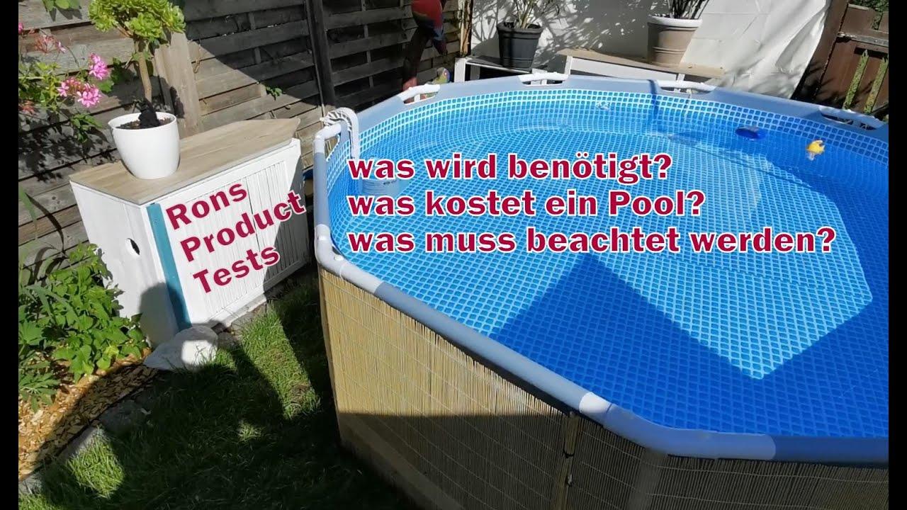 Pool Im Garten Kosten Und Was Wird Benotigt Intex Und Bestway