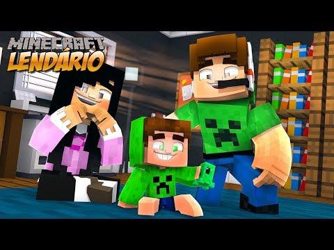 O SPOK VIROU NOSSO FILHO !!  Minecraft Lendário #12 (Servidor Multiplayer)