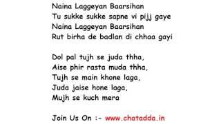 Tujhe Bhula Diya Lyrics Full Song Lyrics Movie - Anjaana Anjaani (2010)