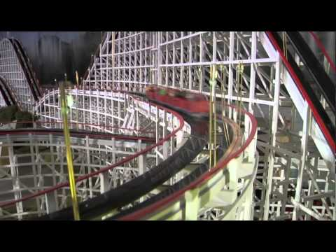 Amazing Model is Miniature of Cincinnati's Coney Island Amusement Park