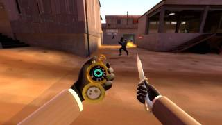 Team Fortress 2: Spy - 17 backstabs in one life (replay) [720p HD]