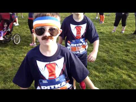 Warm Up @ The Ditka Dash