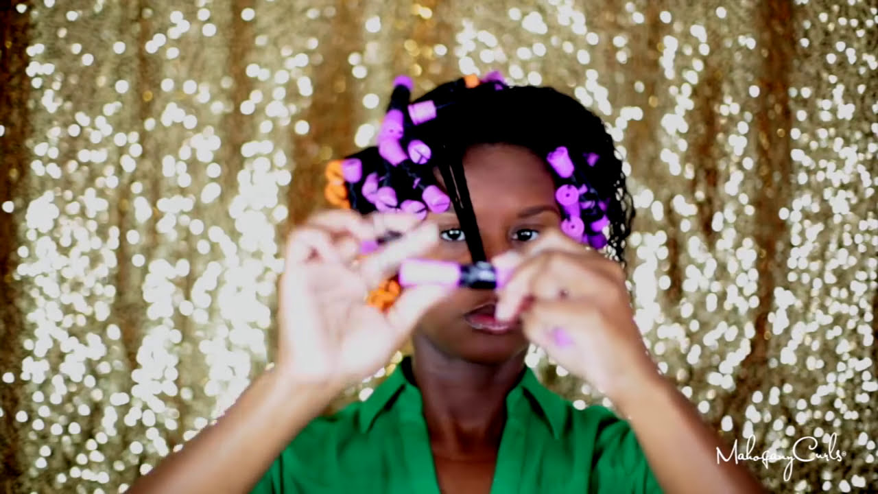 Natural Hair Conditioner Only Spiral Set YouTube