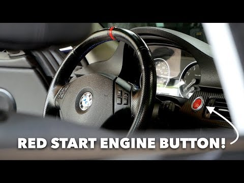 RED START/STOP ENGINE BUTTON // BimLand Performance