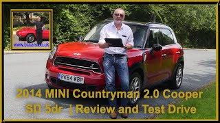 MINI Countryman 2.0 Cooper SD 5dr RK64WBP | Review and Test Drive