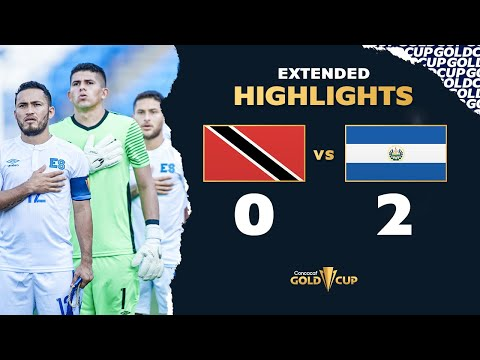 Extended Highlights: Trinidad  Tobago 0-2 El Salvador – Gold Cup 2021