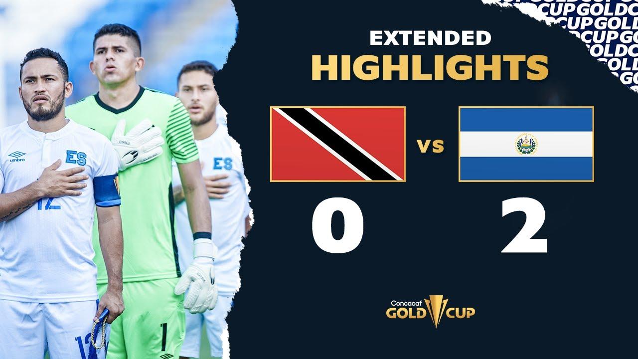 Recap: Trinidad & Tobago 0, El Salvador 2