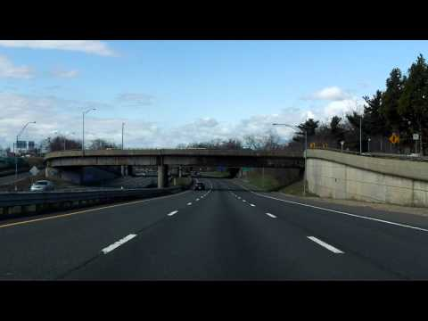 Interstate 291 - Massachusetts westbound