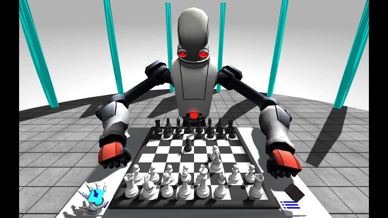 Robot Chess – Leap Motion Gallery