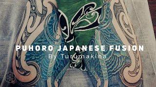 TA MOKO by Turumakina // Maori Ta Moko & Japanese puhoro fusion