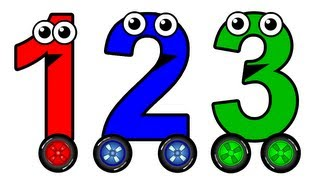 numbers 1 to 10 chant learn to count english numbers baby toddler learning nursery rhymes