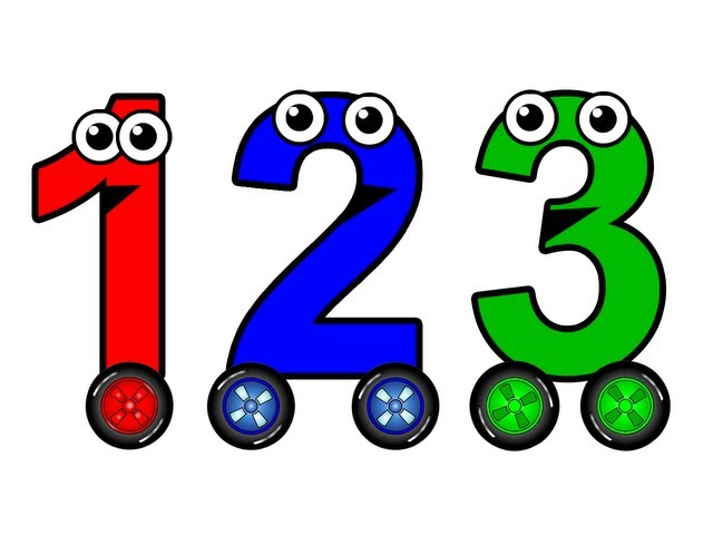 Numbers 1 to 10 Chant - Learn to Count English Numbers, Baby Toddler Learning Nursery Rhymes