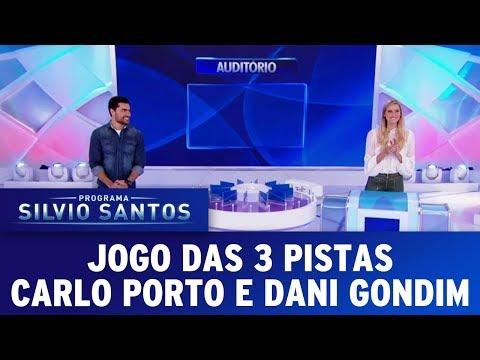 Jogo das 3 Pistas | Programa Silvio Santos (25/06/17)