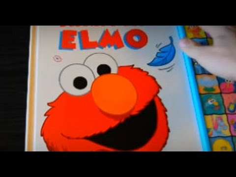 TICKLES FOR ELMO SESAME STREET PLAY-A-SOUND BOOKS FUN TOYS