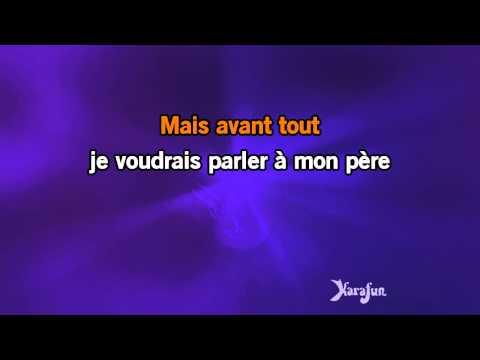 Karaoké Parler à mon père - Céline Dion *
