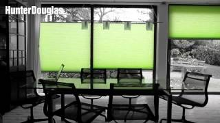 HunterDouglas 窗簾 - 風琴簾 (蜂巢簾 - 蜂巢立體結構布料)