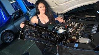 BMW 330i за 50 000 рублей ПЕРВЫЙ РЕМОНТ