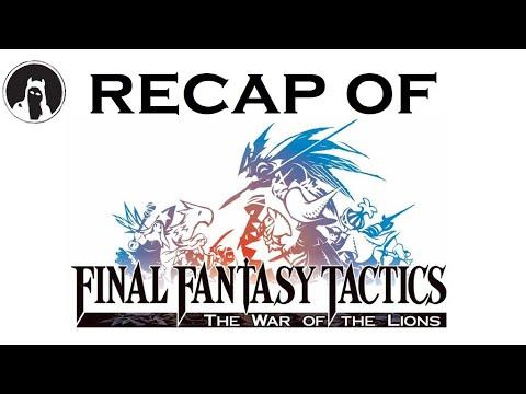 What happened in Final Fantasy Tactics? (RECAPitation)