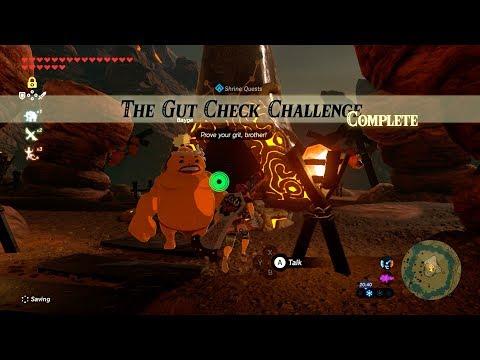 Zelda: BOTW 106/120 (The Gut Check Challenge // Gorae Torr Shrine) Eldin Tower Region