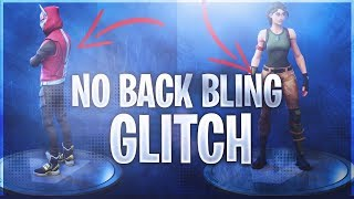 *NO BACK BLING* and *NO SKIN* GLITCH! Fortnite Battle Royale
